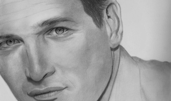 Paul Newman Drawing